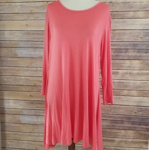 New Simply Southern Tunic 3/4 Sleeve Basic T